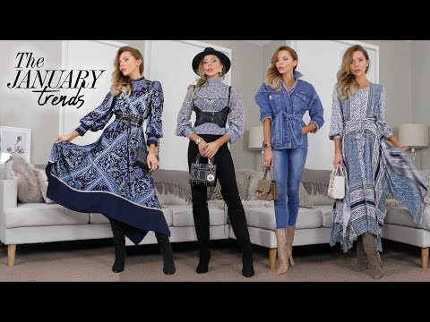dc2480f1 HAUL & TRY ON // January 2019 Trends // H&M, Nastygal & SHOES! - YouTube