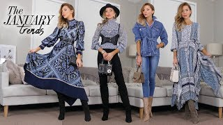 HAUL & TRY ON // January 2019 Trends // H&M, Nastygal & SHOES!
