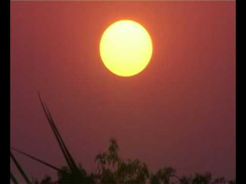 VILLAGE MORNING BEAUTIFUL SUNRISE VIS