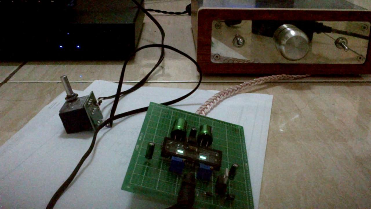 Diy Nutube 6p1 Pre Amp Test Youtube
