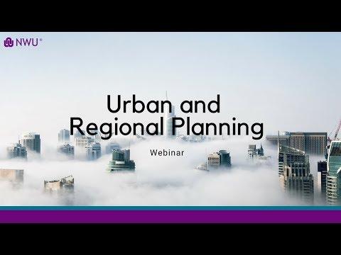 Webinar: Urban And Regional Planning