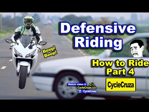 How to Ride a Motorcycle - Part 4 | Defensive Riding Tips (A