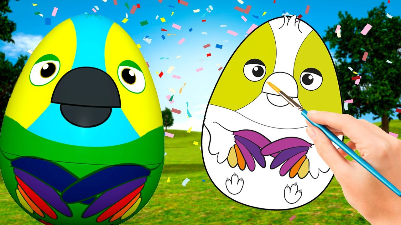 ¡A Pintar Huevos Sorpresa! - El Lorito Pepe | La Granja de Zenón