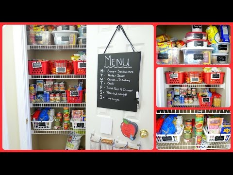 How to Organize Your Pantry with Dollar Store Bins