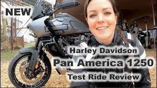 Harley-Davidson Pan America 1250 - Test Ride Review with Sound Check