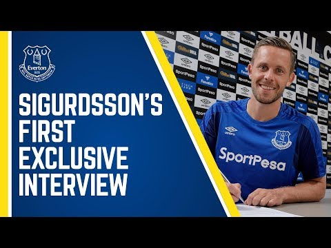 SIGURDSSON SPEAKS! EXCLUSIVE FIRST INTERVIEW WITH CLUB RECORD SIGNING