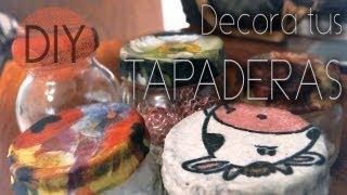 DIY: decora tus tapaderas con servilletas ♥ Thumbnail