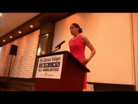 Rebecca Lobo speaks at Ledger All-Scholastic awards lunch