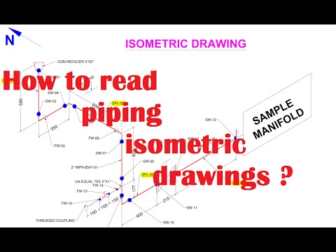 Pipinghow To Read Isometric Drawingsbasic Youtube