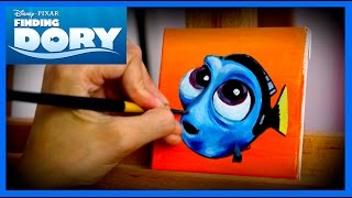 Painting Baby Dory