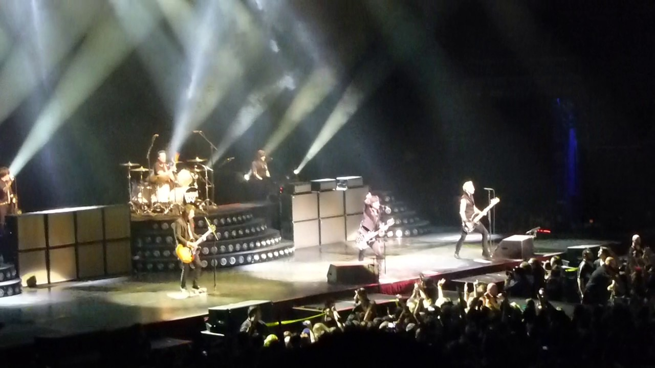 green day know your enemy live qudos bank arena. Black Bedroom Furniture Sets. Home Design Ideas