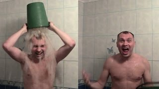 Ice Bucket Challenge Umeloe TV Олег Алексеев