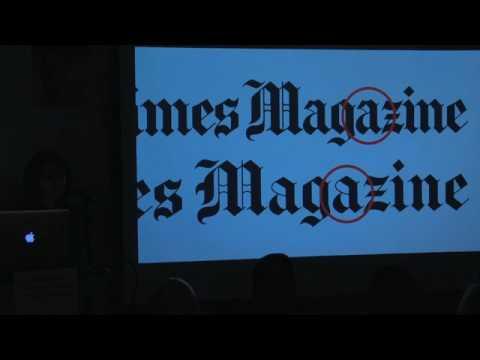 Gail Bichler:  New York Times Magazine Type,  2015 - Present