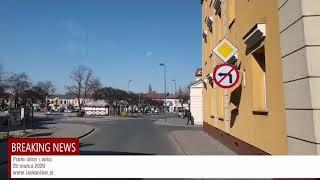 Puste ulice Łasku