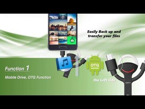 USB OTG Series - addlink Smartlink OTG flash drive