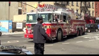"FDNY Ladder 4 ""Whose car is that?"""