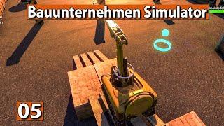 BAUUNTERNEHMEN SIMULATOR 🏗️ Bauroboter steuern Parcours ► #5 Demolish And Build 2018 deutsch