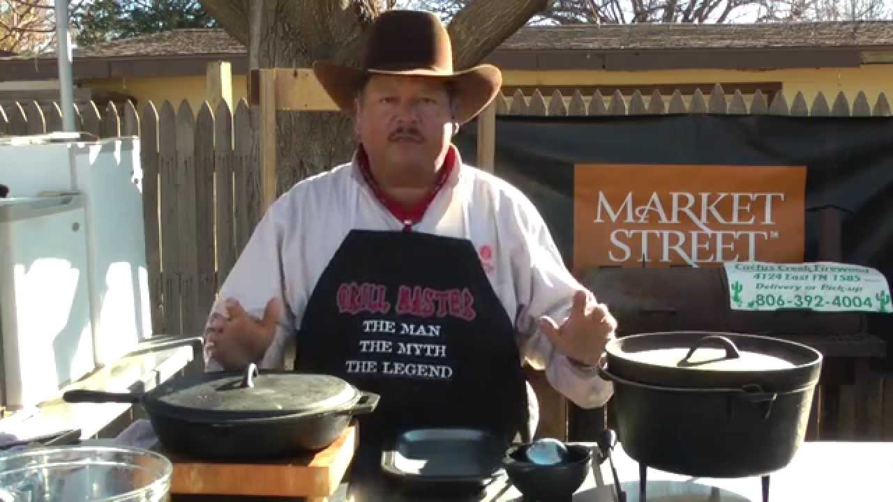 Dutch Oven Chili And Porkchops Backyard Grillin With The Grill Master