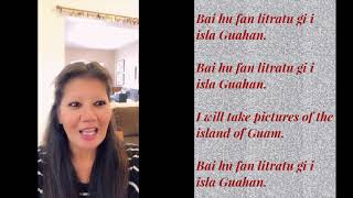 Lets learn the Chamorro language of Guam part 8 Chamorro Belly Good Food