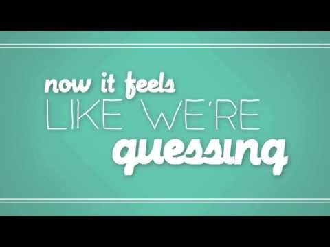 Against The Current: Guessing (Official Lyric Video)
