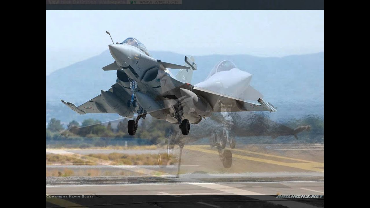 POWERFUL INDIAN AIR FORCE RAFAEL FIGHTER PLANE