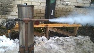 Мега дымогенератор!!!Испытание,обзор комплектующих!Mega Smoke generator.