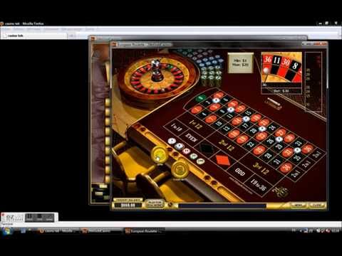 Video Roulette strategy martingale system