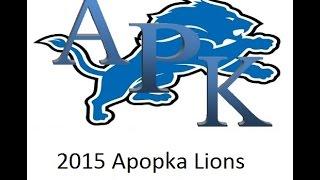 2015 apopka lions jr midgets highlights