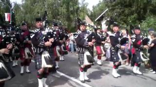 First Royal Tank Regiment, Glen Moriston Pipes Band, Scots Dragoons