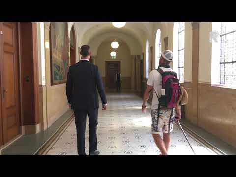 Hiv-activisten lopen van Brussel naar Amsterdam