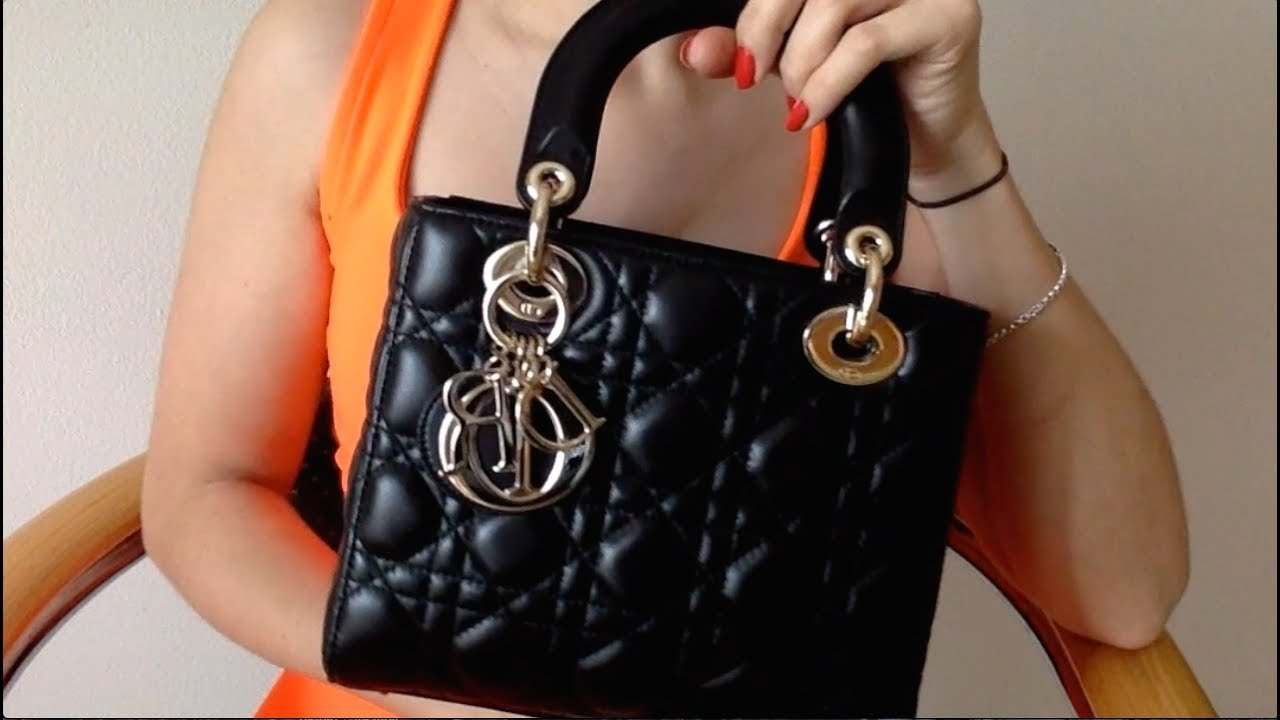 39b769d253 7 Months Wear and Tear Update | Small Lambskin Lady Dior - YouTube