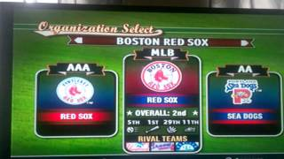 MVP Baseball 2004 Red Sox Dynasty Episode 1 Part 1/2