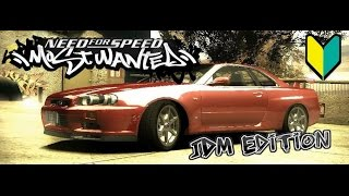 Need For Speed: Most Wanted | JDM Edition (Part 1)