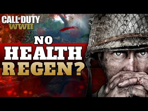 No Health Regeneration in CoD WW2 Multiplayer?   *Now Confirmed to be False!*