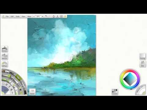 Painting tutorial - Artrage 3