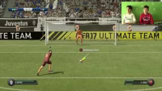 FIFA 17 ITA Calci di rigori | Juventus vs Roma | Gameplay ITA 2017 thumbnail