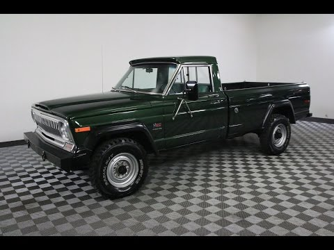 1974 JEEP J20 GLADIATOR GREEN