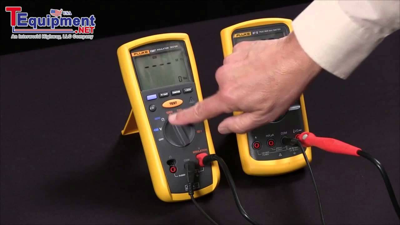 Fluke 1507: What Is A PI Or DAR Test?