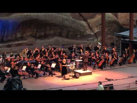 Mary Chapin Carpenter 10,000 MILES (FARE THEE WELL) w/ Colorado Symphony at Red Rocks 7/27/14