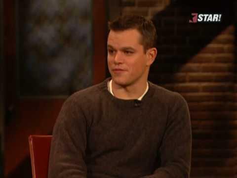 10 Questions for Matt Damon