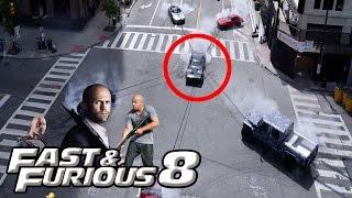 """7 أخطاء قاتلة في الفيديو الدعائي لفيلم """"السرعة والغضب"""" fast & furious 8"""