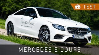 Mercedes-Benz E 220d Coupe (2017) - test [PL] [review ENG sub] | Project Automotive