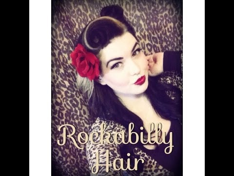 how to style rockabilly hair rockabilly hair tutorial 4782