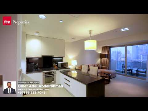 Live the Five Star Luxury life, Fully Furnished 1 Bed Apartment in Address Dubai Marina
