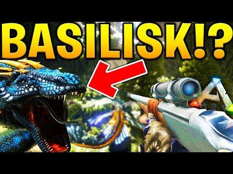 HOW TO TAME A BASILISK - ARK SURVIVAL EVOLVED ABERRATION EXPANSION #5