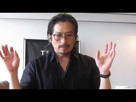 Mr. Holmes - Interview with Hiroyuki Sanada Pt1