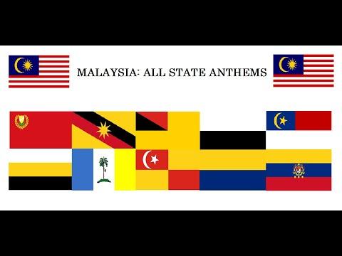 ALL MALAYSIAN STATE ANTHEMS