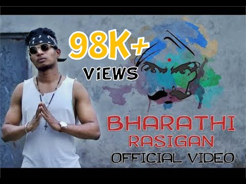 Bharathi Rasigan | Tamil Rap Song | Official Video | HipMACHop | 2018