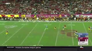 Crazy Play leads to USC Touchdown vs UCLA (2017)