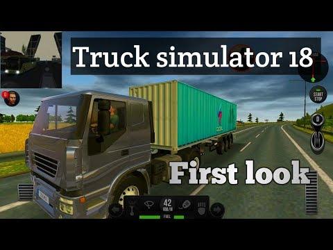 Сонин тоглоом бэ?-Truck simuator 2018 Europe first look gameplay